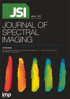 JSI—Journal of Spectral Imaging Cover
